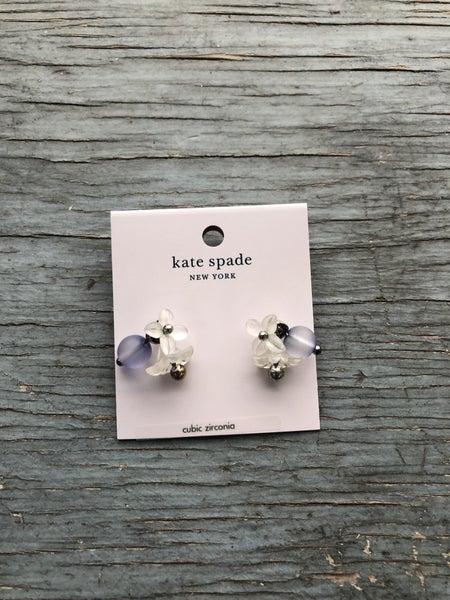 Kate Spade Flower & Bobble Post Back Earring NWT