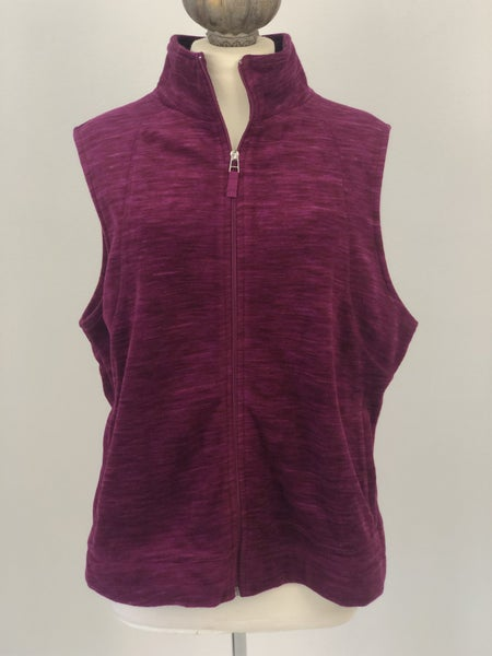 Sz. XL Kim Rogers Fleece Vest