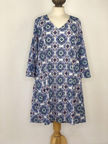 2X Sami & Jo Plus Blue Dress