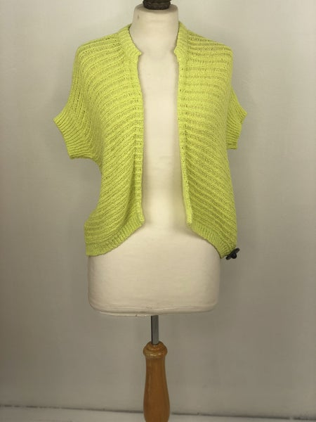4 Chico's Knit Lime Green Cardigan NWT Ret $89