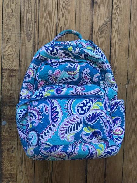 Vera Bradley Campus Backpack Ret $115 *As Is* Sign of Wear