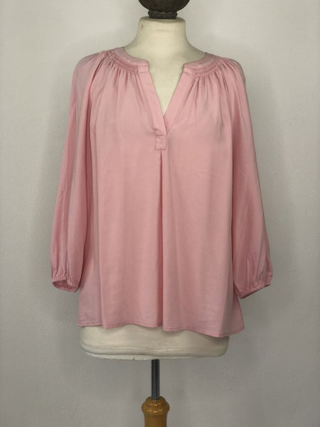 XLp Crown & Ivy Blush Pink Tunic