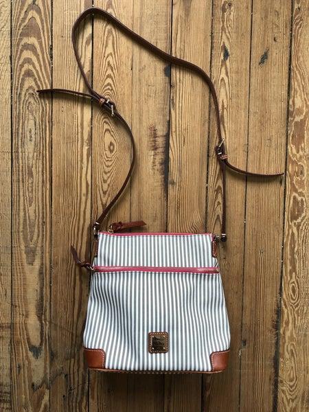 Dooney & Bourke DB Stripe Crossbody Ret $240