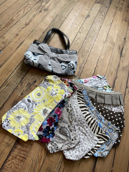 Thirty One Skirt Purse Plus 9 Skirts Total Retail $233