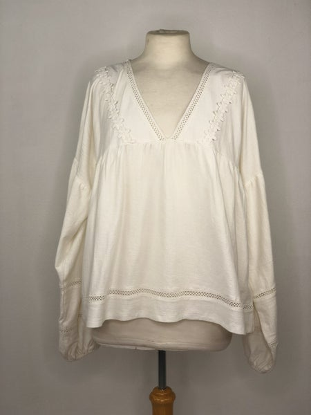 14 asos Design White Gauze Tunic