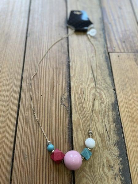 Color Block Necklace