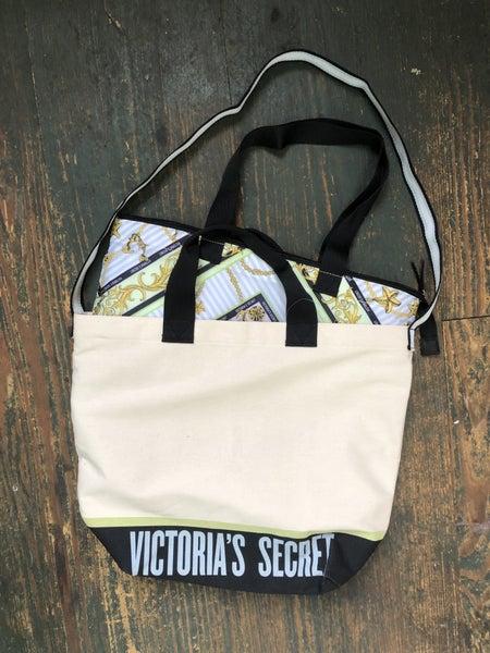 Victoria's Secret Insulated Canvas Tote NWT