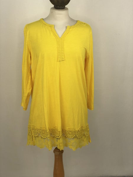 M Land's End Yellow Tunic