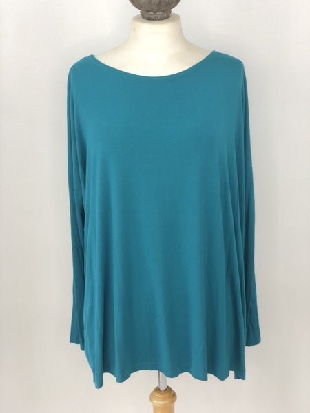 L PIKO Long Sleeve Teal