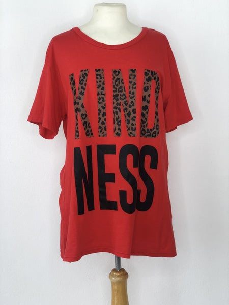 "L ""KINDNESS"" Red Tee"