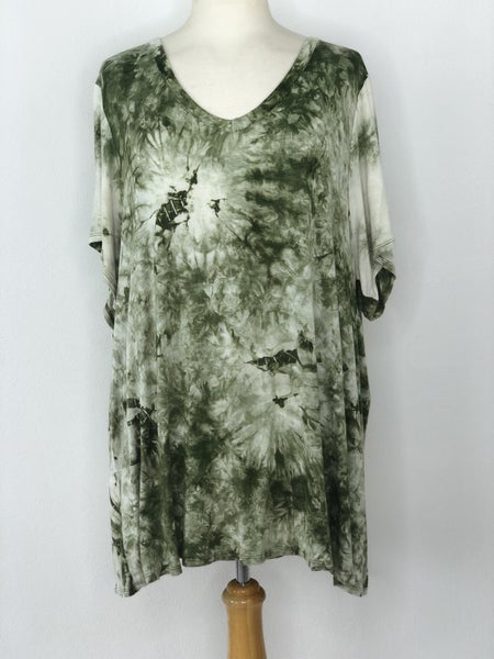 ANA Green/White Tie Dye