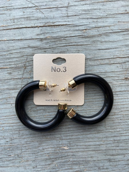 Chunky Open Hoop Earring