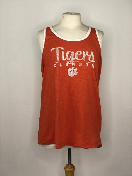 XL Pressbox Orange Clemson Tank