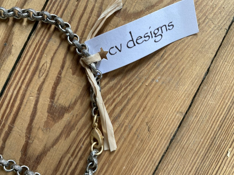 Mixed Metal Link Necklace