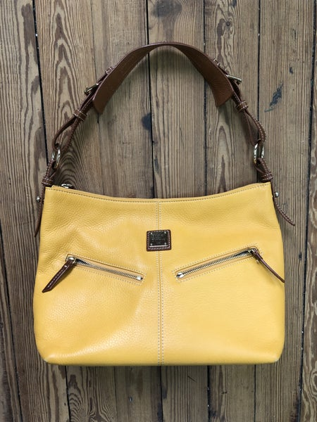 Dooney & Bourke Pebble Leather Hobo Est Ret $330 *As Is* Some Wear *LOCAL PICKUP ONLY*