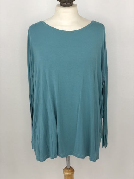 M PIKO Long Sleeve Sky Blue Top