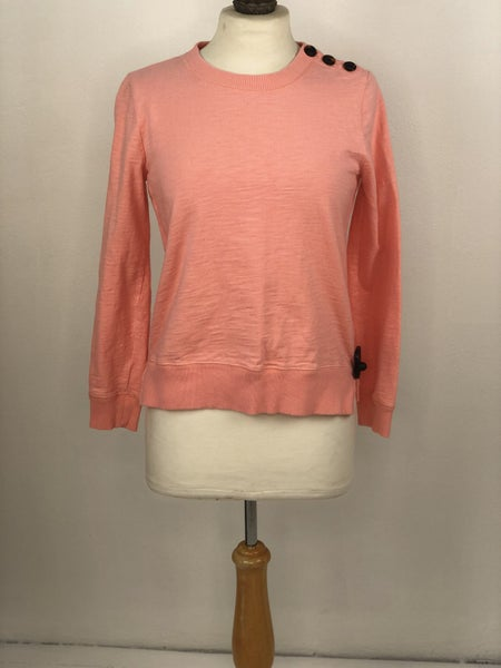 XS J. Crew Peach Sweatshirt