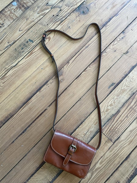 Patricia Nash Tori Crossbody in Heritage Tan Retail $99 *as is *some wear