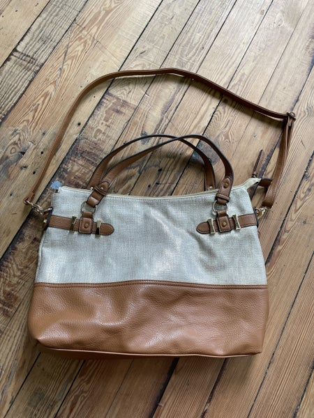 Jessica Simpson Metallic & Faux Leather Bag *Local Pickup Only