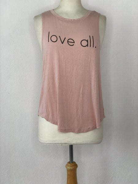 "M Grayson Threads Blush ""love all"" Tank"