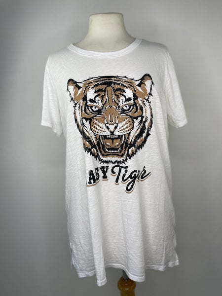 """M Zutter """"Easy Tiger"""" Tee"""