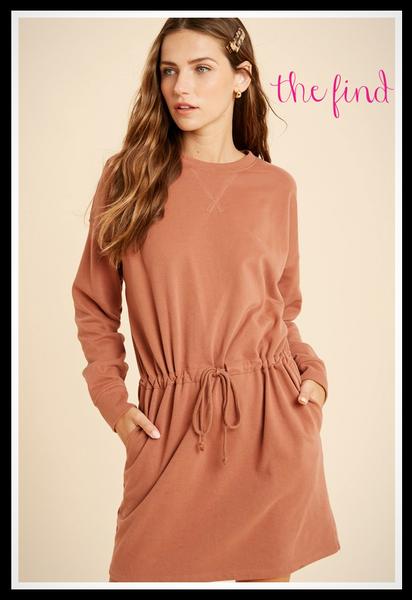 Sienna Dress in Rust