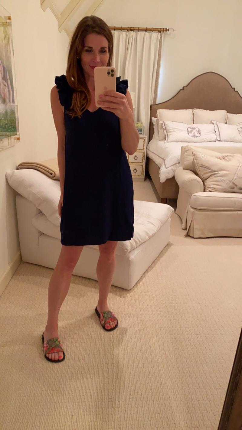 Parker Dress in Navy *Final Sale*