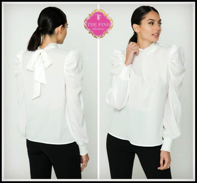 Penelope Top in White *Final Sale*