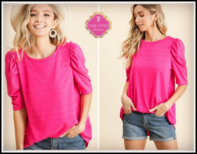 Poppy Top in Pink *Final Sale*