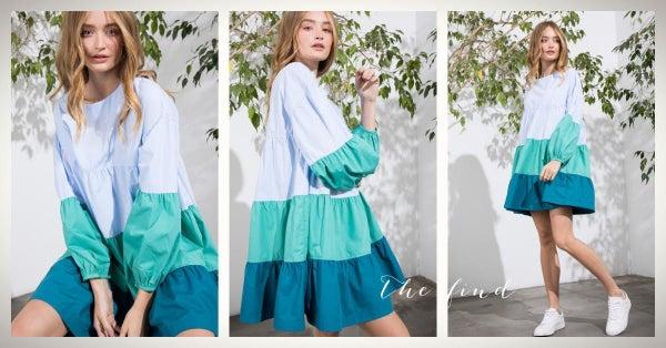 Amber Dress In Jade