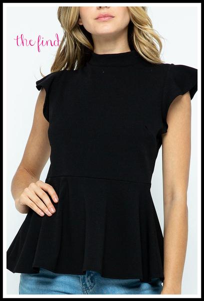 Zoe Top in Black