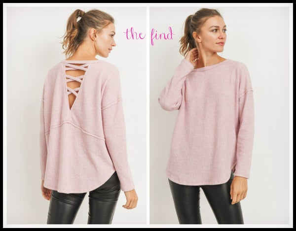 Megan Top in Pink