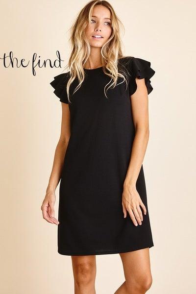 Paige Dress in Black