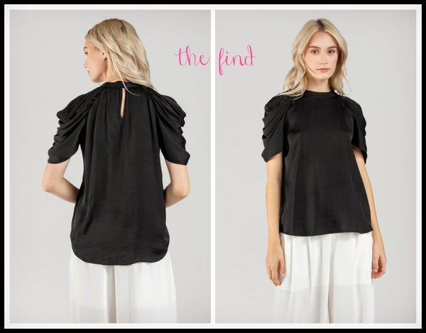Megan Top in Black *Final Sale*