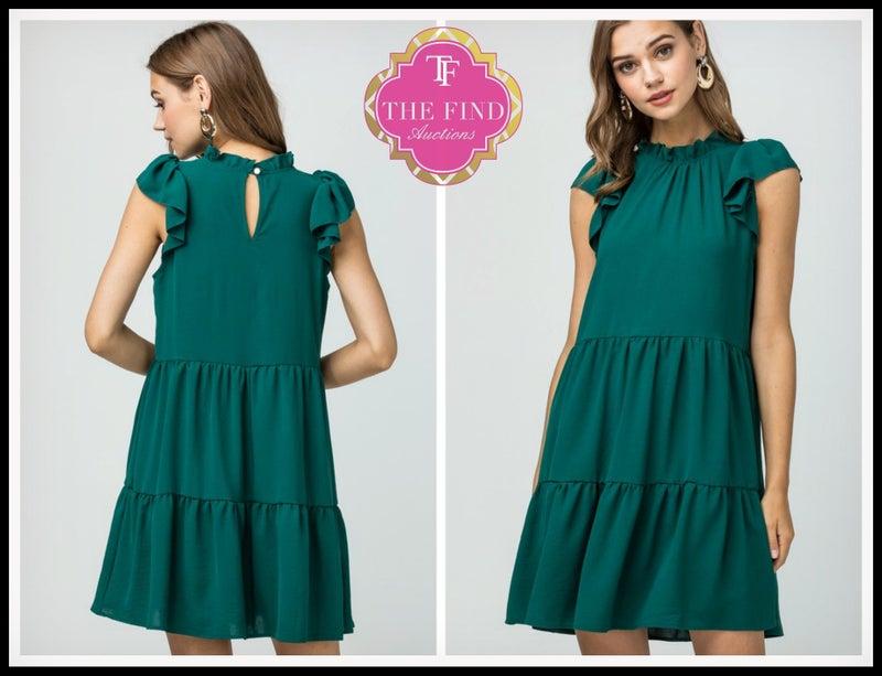 Louise Dress in Green *Final Sale*