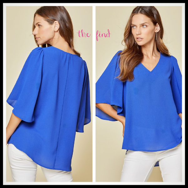 Eloise Top in Royal