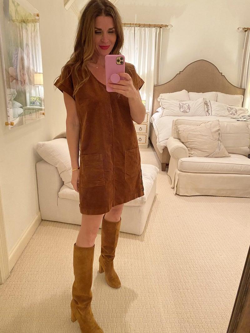 Austin Corduroy Dress