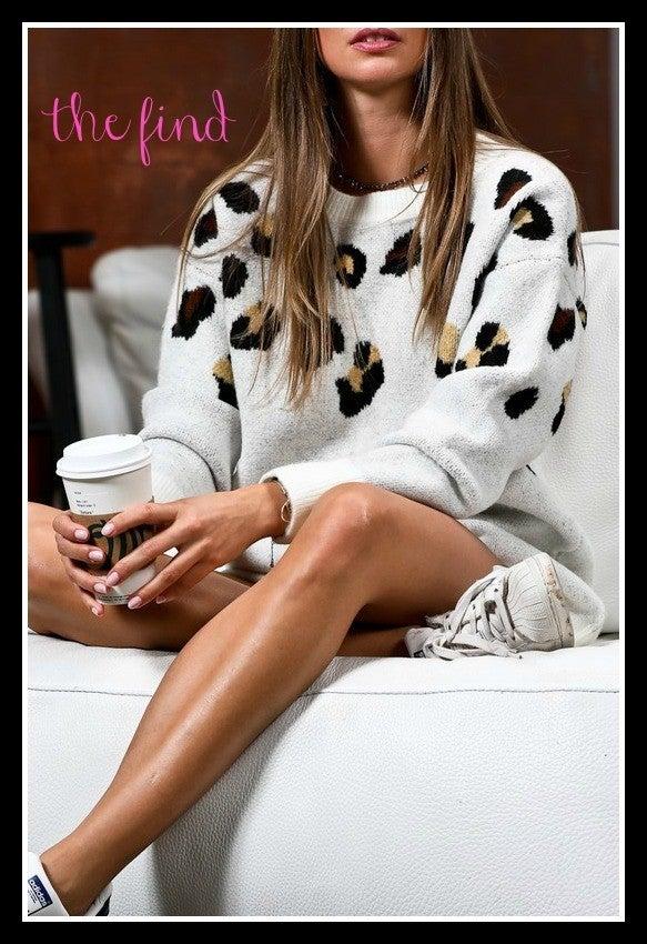 Mills Leopard Sweater