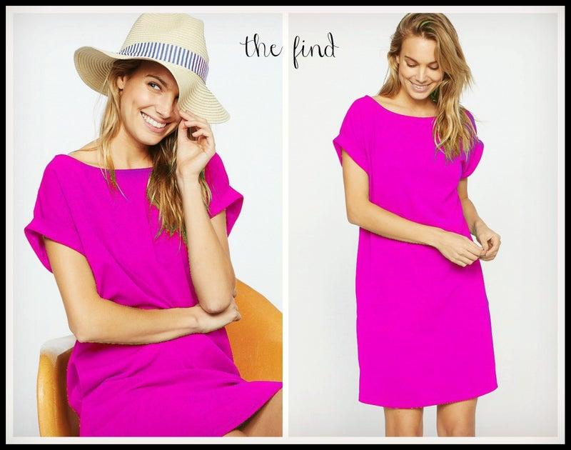 Melanie Dress in Hot Pink *Final Sale*