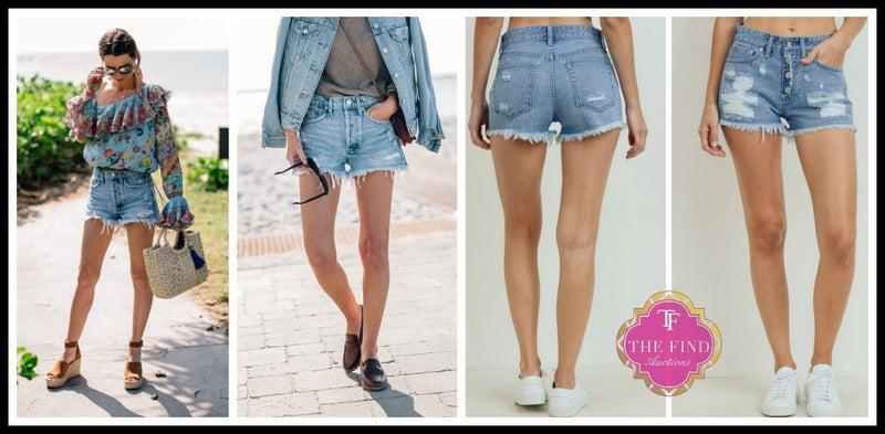 Hager Jean Shorts *Final Sale*