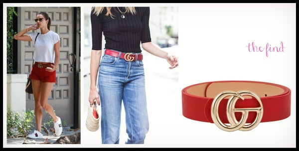 Graham Belt in Red