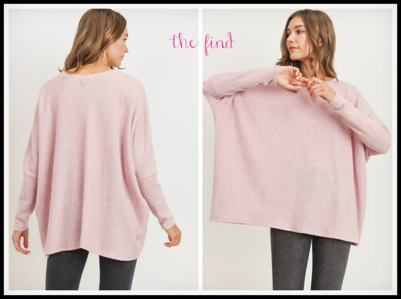 Ella Top in Blush