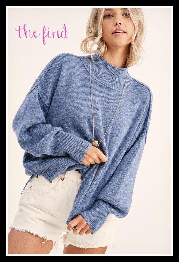 Hannah Sweater in Blue
