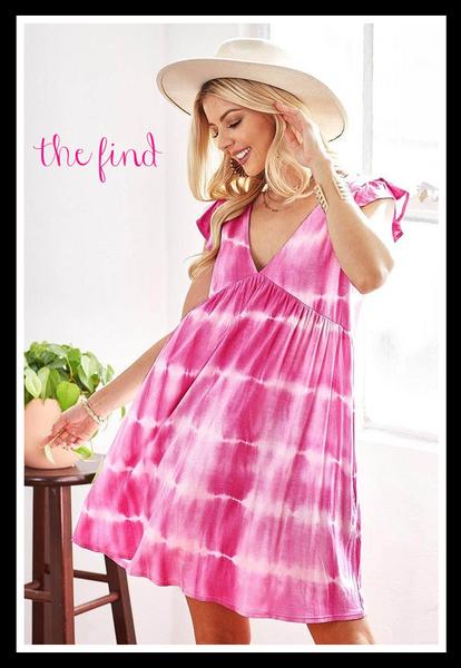 Annie Dress in Fuchsia