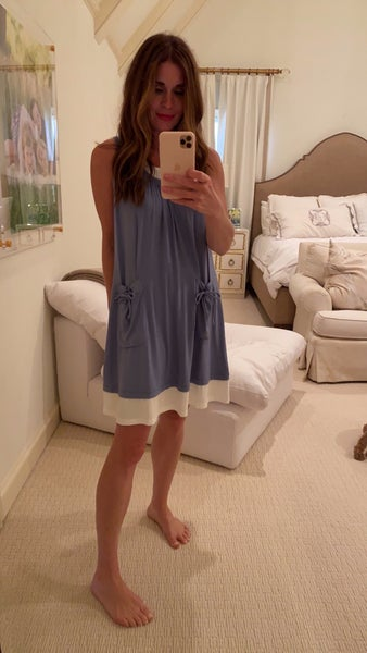 Tara Dress in Blue