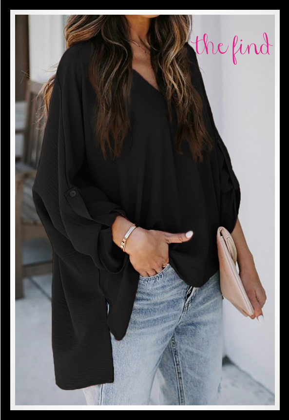 Everette Top in Black