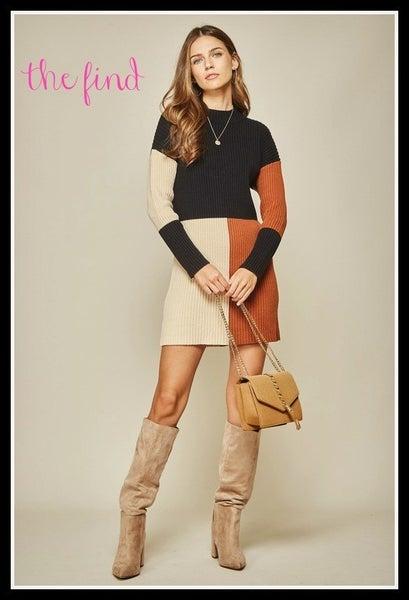 Tucker Sweater Dress
