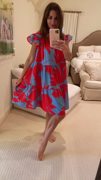 Neely Dress in Pink