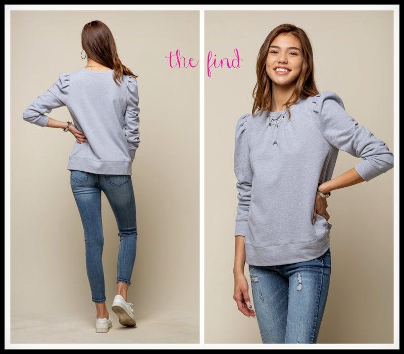Nantucket Sweatshirt in Gray