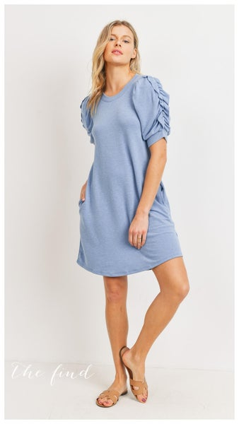 Gibson Dress in Blue